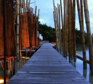 Pool@night Six Senses Samui Resort & Spa