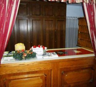 Rezeption unbesetzt Hotel Wiesenhof