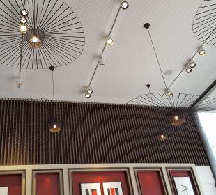 Decke im Frühstücksraum AMERON Hotel Speicherstadt Hamburg