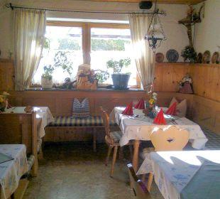Im Restaurant Gästehaus Watzmannblick