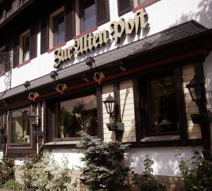 Außenansicht Hotel Zur Alten Post