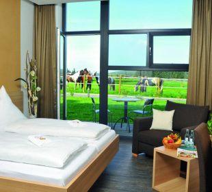 Doppelzimmer mit Terrasse Reit- & Sporthotel Eibenstock