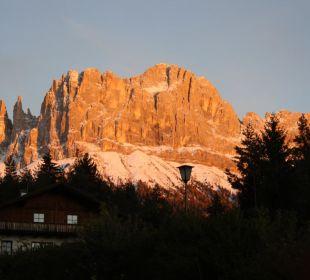Sonnenuntergang im Oktober Naturpark Hotel Stefaner
