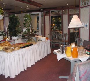 Frühstücksbuffet Hotel Willinger Mitte