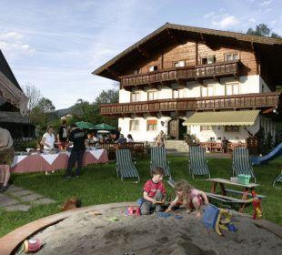 Lustiger Grillabend am Ötzmooshof Pension Ötzmooshof