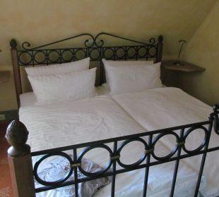 Gemütliches Bett Hotel Forsthaus Damerow