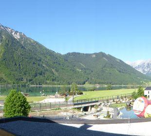 Ausblick Rieser's Kinderhotel Buchau