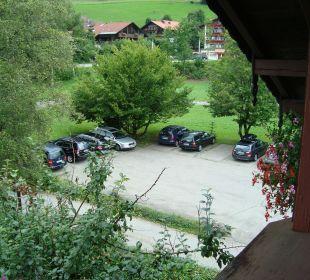 Parkplatz vor dem Hotel Hotel Mühlenhof