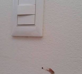 Beschmutzte Wände