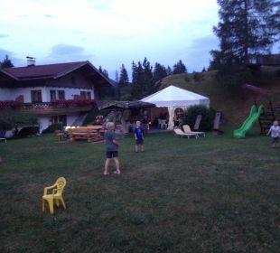 ... und immer wieder Spiele ....... Ferienhaus Kirchplatzl