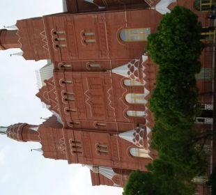 Mainrestaurant und Lobby, vom Pool geknipst Hotel WOW Kremlin Palace