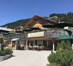 Außenansicht Hubertus Alpin Lodge & Spa