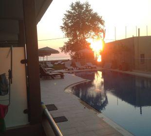 Seitliche Meersicht Hotel Corissia Princess