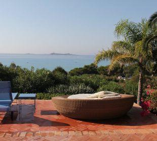 Ausblick aufs Meer vom Pool aus Hotel Residence Fenicia