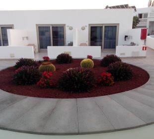 Innenhof Zimmer  Hotel Las Costas
