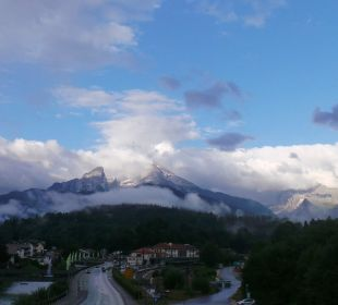 View from my room Hotel Bavaria Berchtesgaden