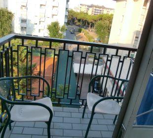 Balkon Hotel Leonardo da Vinci