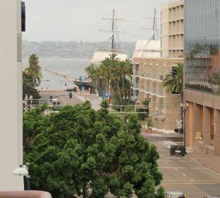 Blick vom Balkon Best Western Hotel Bayside Inn