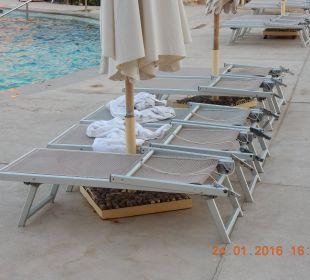 Liegen o. Auflagen Stella Di Mare Beach Resort & Spa Makadi Bay