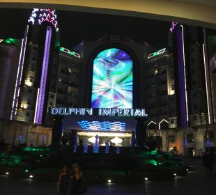 Eingang Hotel Delphin Imperial