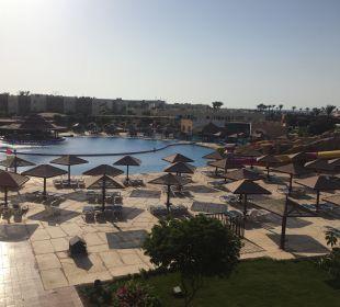 Ausblick Block 10 SUNRISE Select Royal Makadi Resort