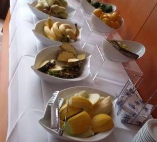 Frisches Obst zum Frühstück Carat Golf & Sporthotel Residenz