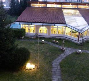 Hallenbad vom Hotel aus Kurhotel Zink