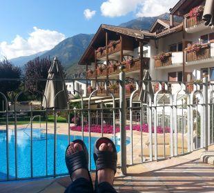 Ruhe und Entspannung am Hotelpool Dolce Vita Hotel Jagdhof Aktiv & Bike Resort