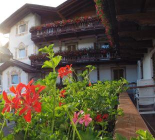 Abendstimmung vom Balkon Hotel Steineggerhof