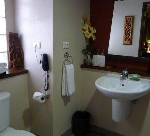 Gepflegter Waschplatz Hotel Siam Heritage