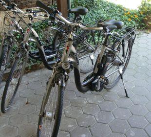 NEU: unsere E-Bikes Wohlfühlhotel Liebnitzmühle