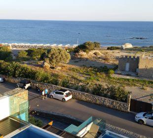 Ausblick vom Balkon Boutique 5 Hotel & Spa