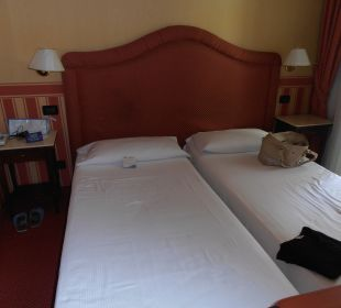 Nicht sehr viel Platz Hotel Tritone Venice Mestre