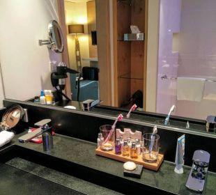 Badezimmer Trettach Hotel Exquisit