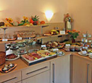 Frühstücksbuffet mit hausgemachten Köstlichkeiten Hotel An der Eiche