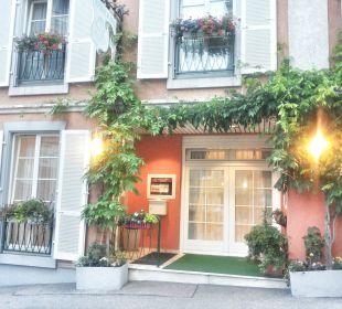 Hoteleingang Hotel Deutscher Kaiser im Centrum