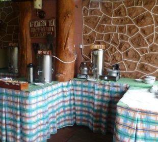 Kaffee.... Hotel Lake Nakuru Lodge