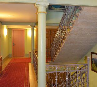 Treppenhaus Hotel Pilatus-Kulm