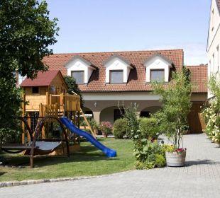 Die Innenansicht unseres schönen Hofes! Ferienwohnungen Am Arkadenhof