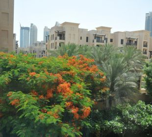 "Ausblick in den ""Garten"" Vida Hotel Downtown Dubai"