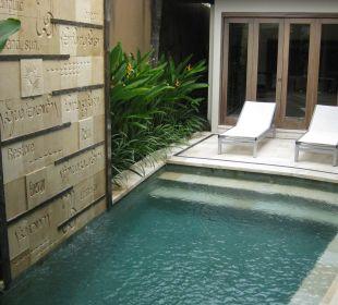 Pool mitten im Wohnzimmer The Ahimsa Beach