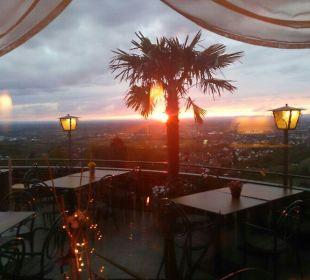 Ausblick aus Restaurant Hotel Jaegersteig