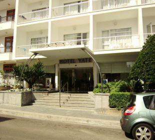 Haupteingang Hotel Yate