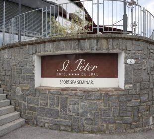 Ansicht von der Straße Hotel St. Peter