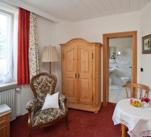 Einzelzimmer mit Bad Gästehaus Hotel Garni Zibert