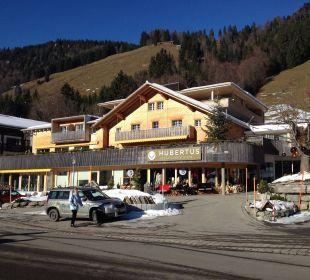 Hotel von aussen  Hubertus Alpin Lodge & Spa