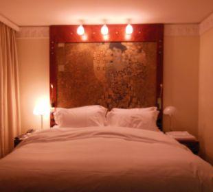 Großes Doppelbett Hotel Am Konzerthaus - MGallery collection