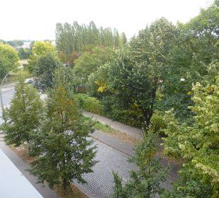 Blick aus dem Zimmer Comfort Hotel Weißensee