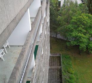 Die Balkone  Familotel Hotel Sonnenhügel