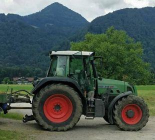 Kinder fahren natürlich mit... Bio-Bauernhof Zacherlhof